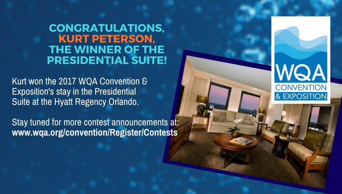 Congratulations, Kurt Peterson!